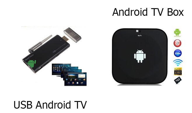 android tv box và android tivi