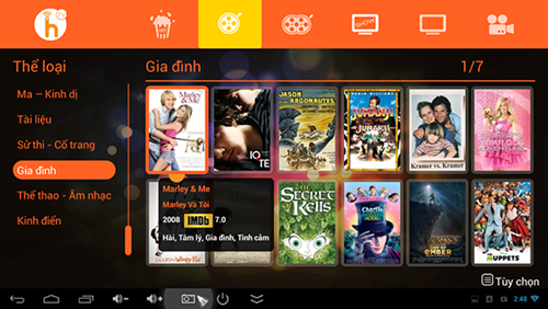 Android tv box có thể làm được gì?