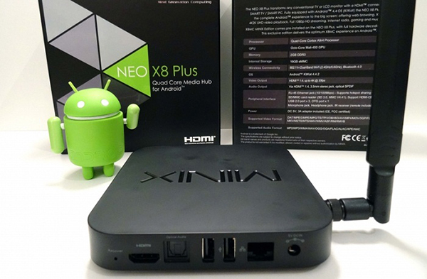 Android TV Box Minix NEO X8 Plus
