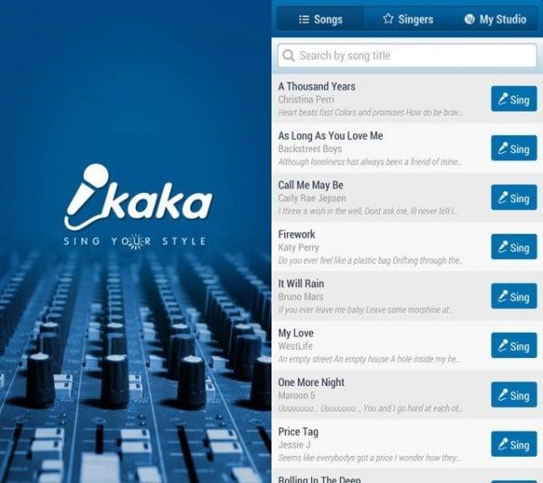 Ứng dụng hát karaoke trên Android tv box