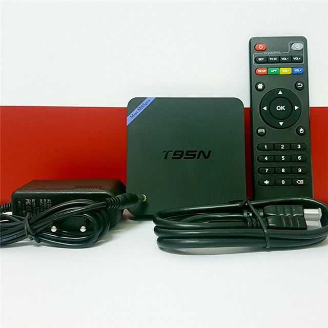 Android tv box sunvell T95N - Mini M8S Pro