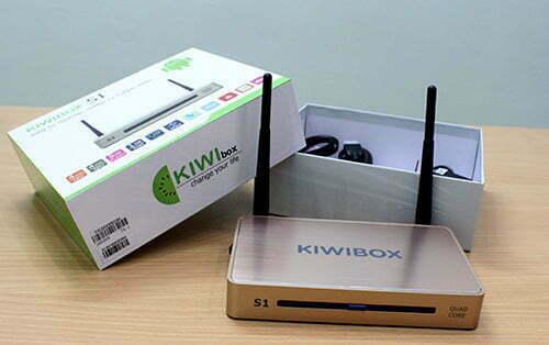 android tv box kiwibox S1