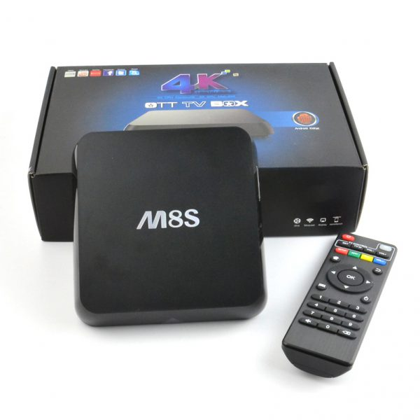 Android TV Box MBOX M8S+ (Plus)