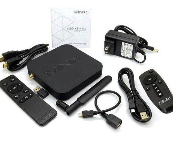 android tv box minix neo x8h plus