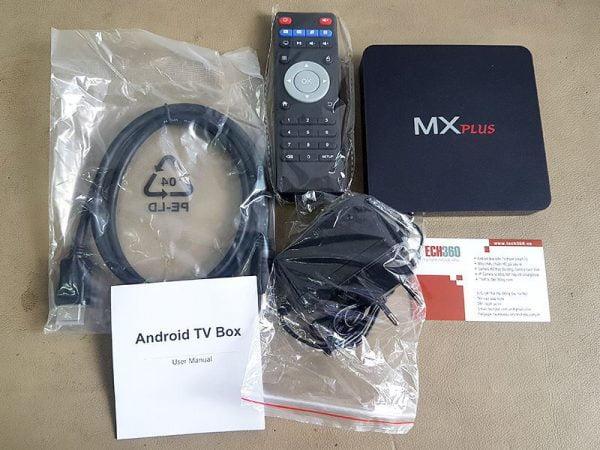 Android TV Box MX Plus AMLogic S905