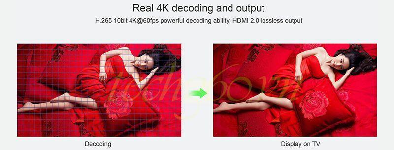 Android TV Box MX Plus và chuột bay KM800