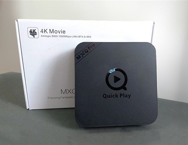 android tv box mxq pro amlogic s905