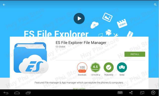Cách copy file vào Android tv box giá rẻ