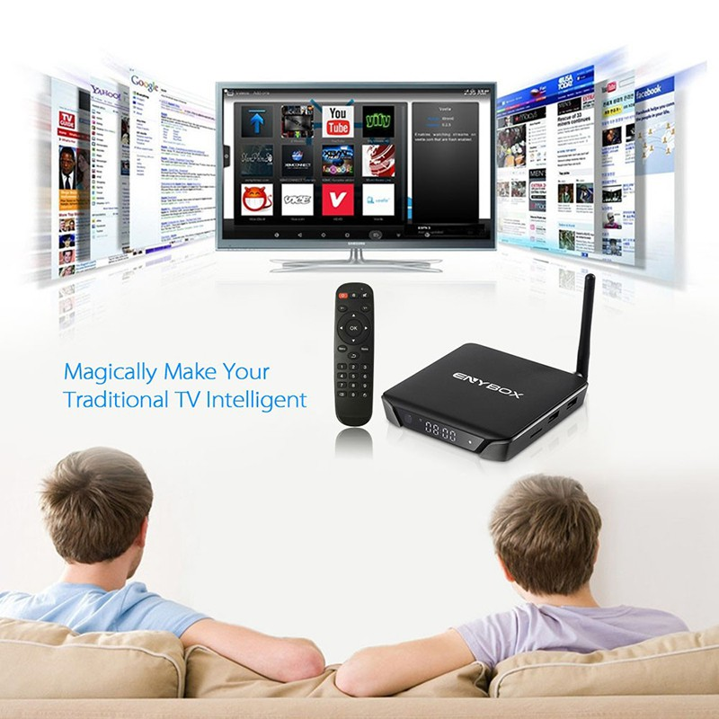 android tv box enybox x1