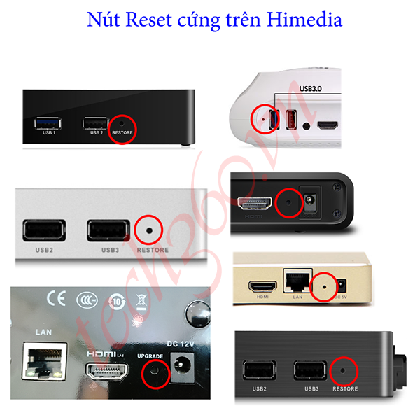 Hướng dẫn up firmware cho Android TV Box Himedia
