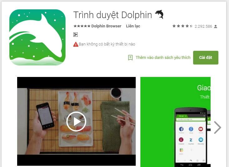 Những trình duyệt dành cho Android TV Box