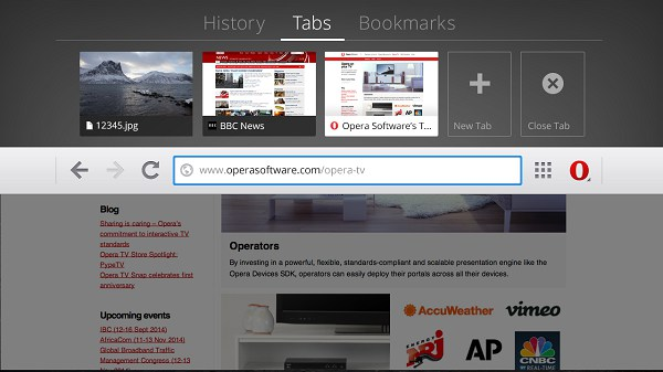 Sử dụng trình duyệt Opera trên Android TV Box