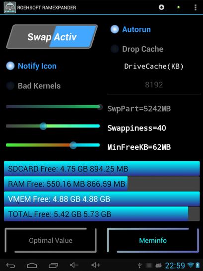 Tăng bộ nhớ RAM cho Android box giá rẻ