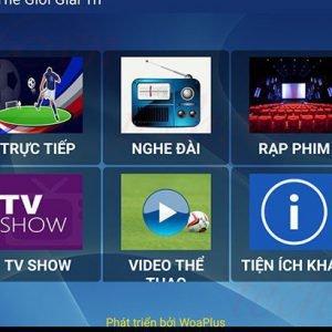 Ứng dụng FlyTV xem truyền hình miễn phí trên Android TV Box cập nhật version 2.0