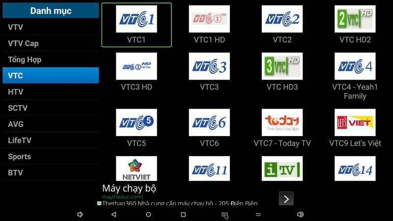 Ứng dụng FlyTV cho Android TV Box xem gần 200 kênh truyền hình