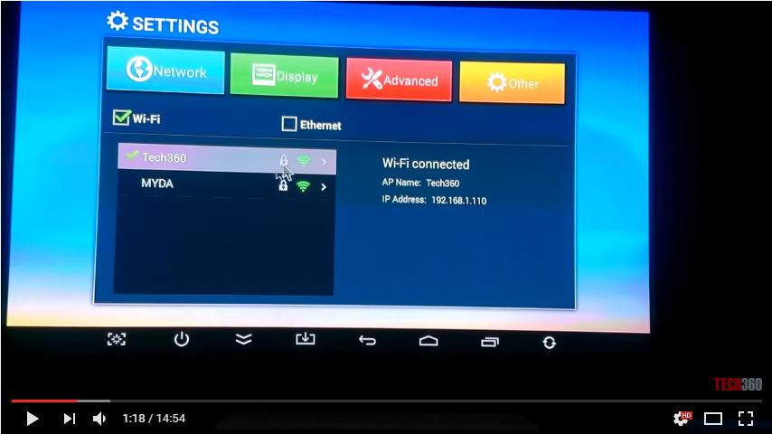 Hướng dẫn sử dụng android tivi box MBOX M5, M8, M8S