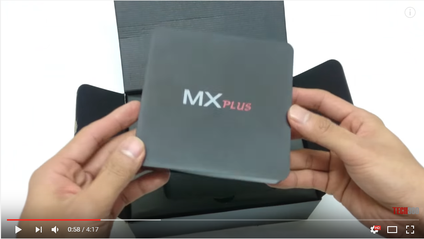 Android Tivi Box MX Plus AMLogic S905 64bit - Unbox