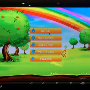 Android Tivi Box Sunvell T95U Pro - Ứng dụng học tập cho bé