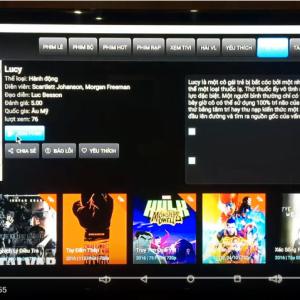 Box tivi Sunvell T95U Pro - Ứng dụng xem phim Online HD siêu mượt