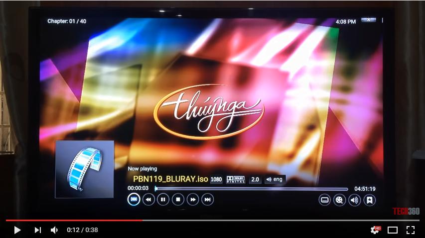 Android TV Box Sunvell T95U Pro - Chạy Bluray ISO trơn tru mượt mà