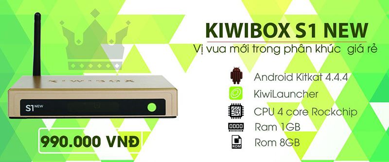 android tv box kiwibox s1 new 2017