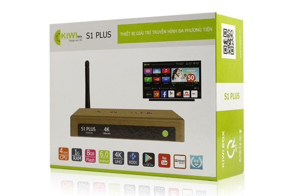 Kiwibox S1 Plus - Android 5.1