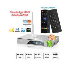 Đập hộp Android TV Box Cloudnetgo CR18 OctaCore 64bit 4K