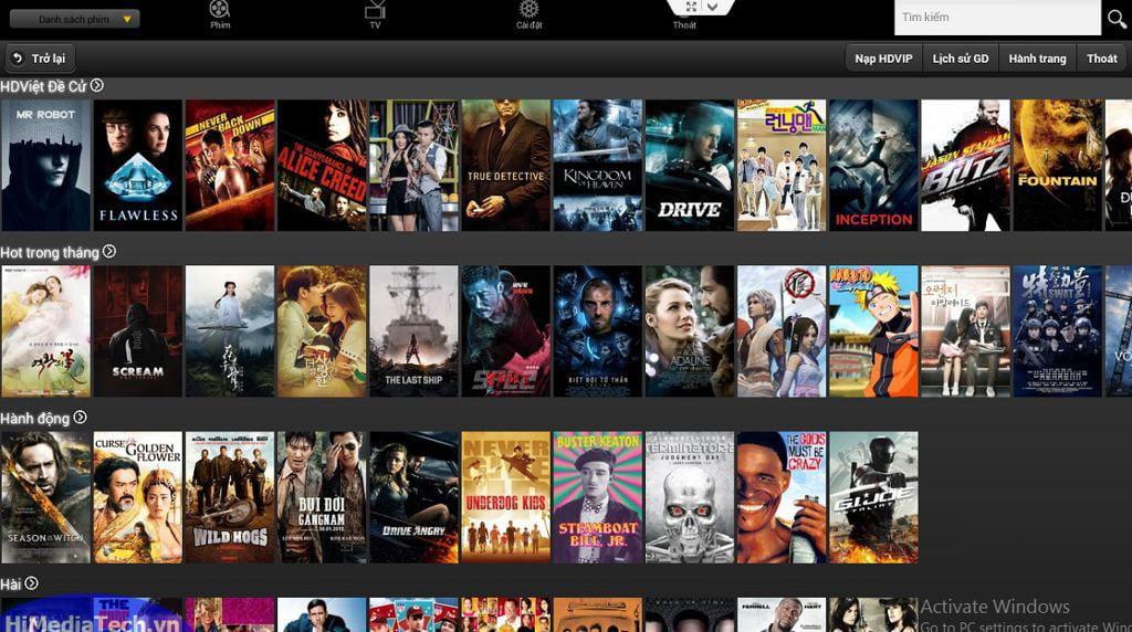 Các ứng dụng xem phim online cho Android TV Box