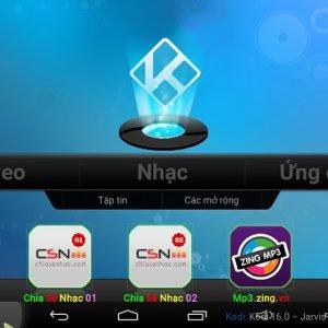 Cách chơi nhạc theo playlist và tự động chuyển bài trên Kodi của Android tv box