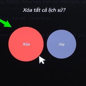 cách xáo lịch sử duyệt web trên android tv box