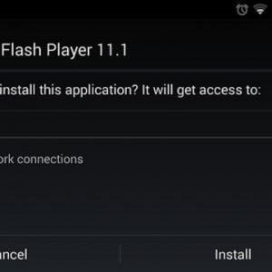 Cách cài đặt Flash Player cho Android TV Box