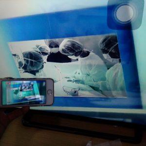Ứng dụng HappyCast chia sẻ hình ảnh từ điện thoại iphone ios 9 lên màn hình tv