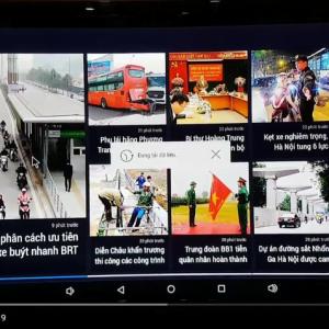 Đọc báo online trên Kiwibox S8 Pro | Android Box RAM 3G, Android 6.0